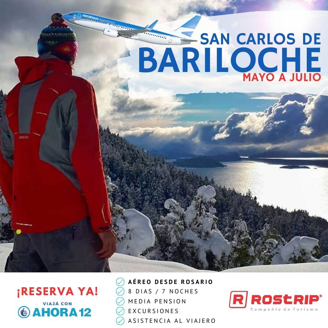 Bariloche Aereo desde Rosario - Baja 2020 - Rostrip