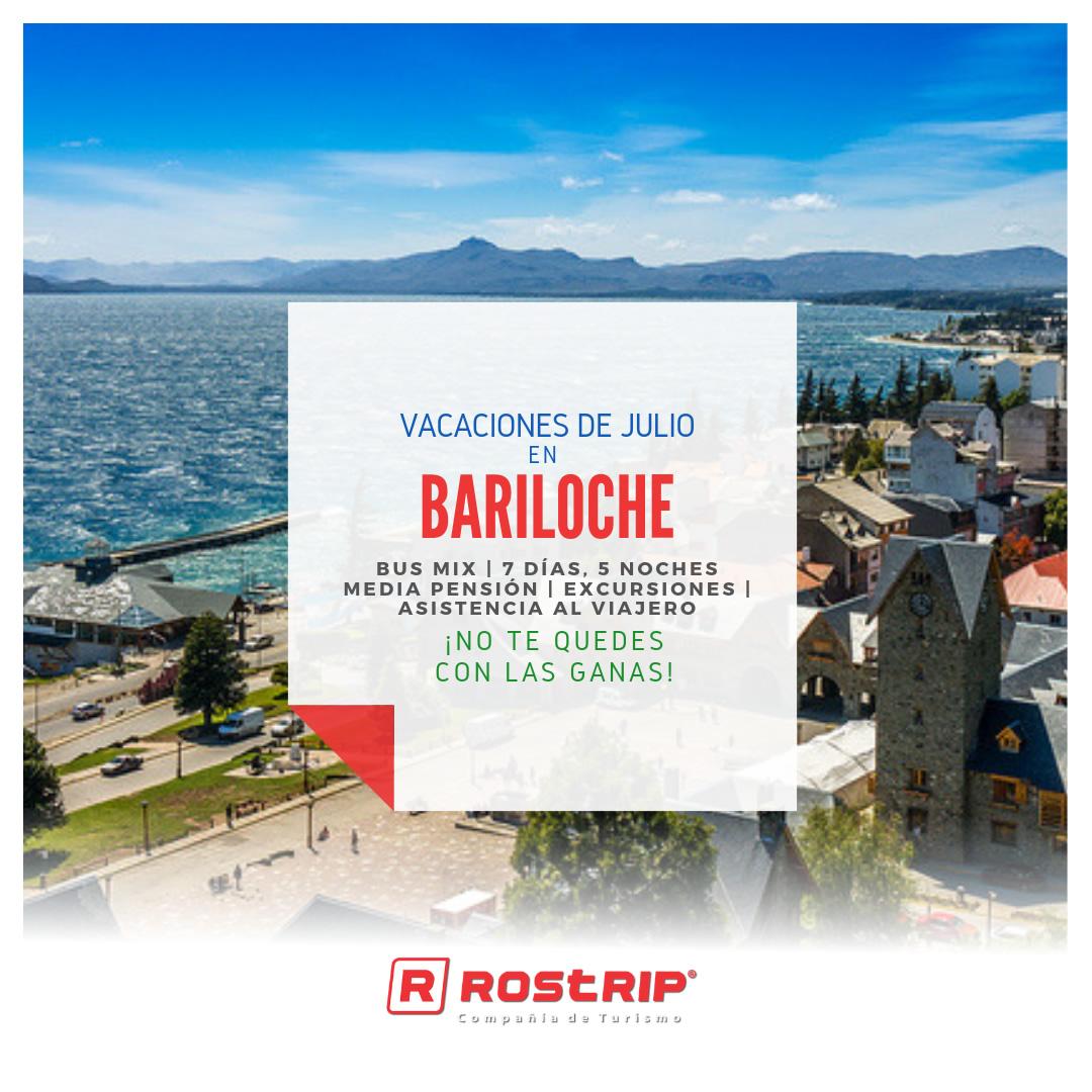 Bariloche - Vacaciones de Julio 2019 - Rostrip