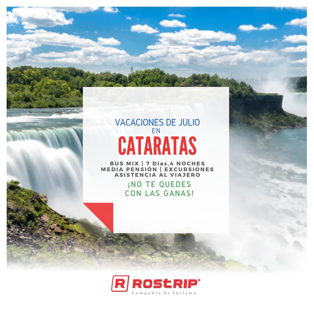 Cataratas - Vacaciones de Julio 2019 - Rostrip