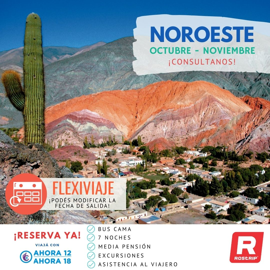 ROSTRIP - FLEXIVIAJE NOROESTE ARGENTINO