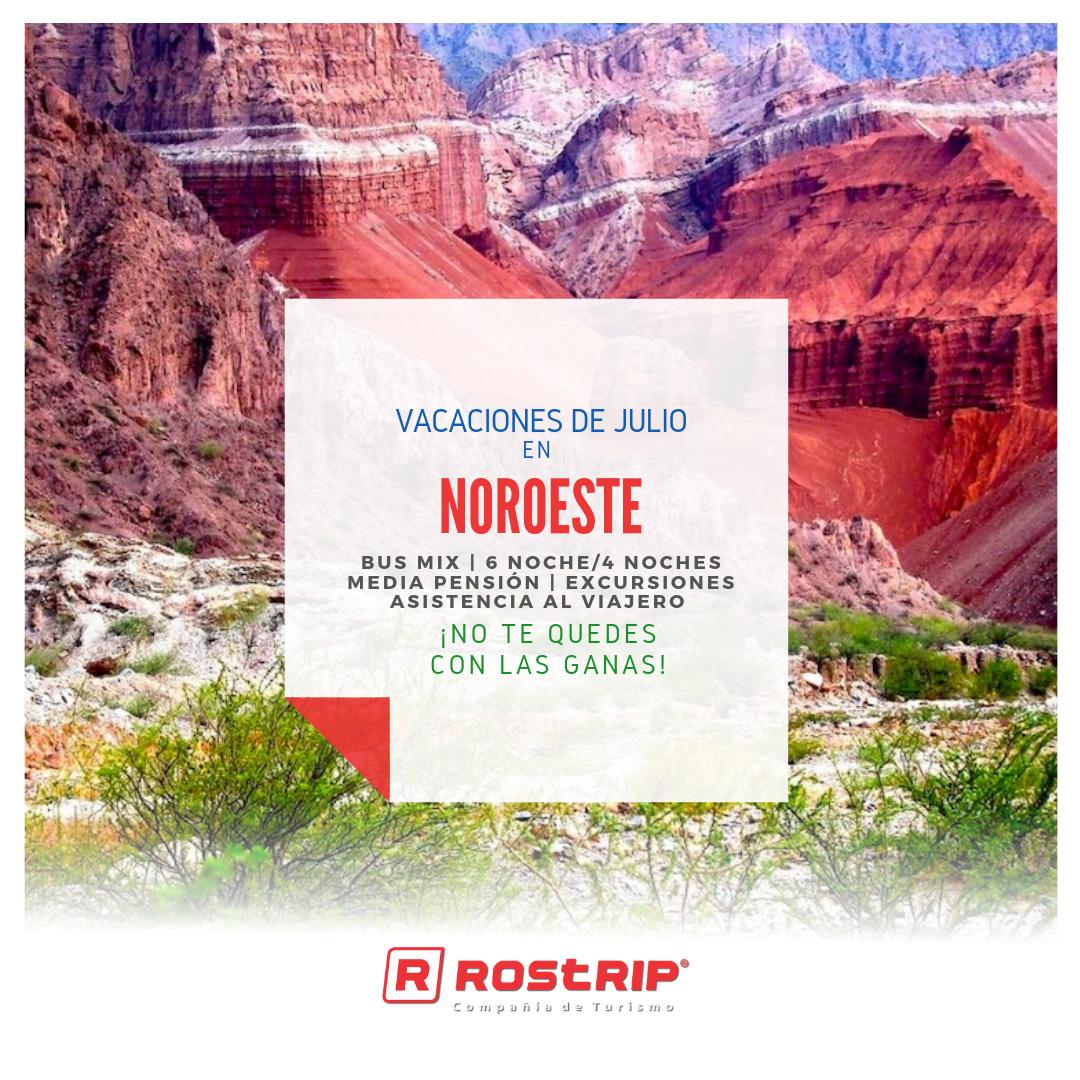 Noroeste - Vacaciones de Julio - Rostrip