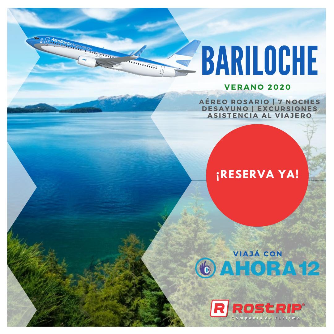 Bariloche Aereo desde Rosario - Baja 2019 - Rostrip